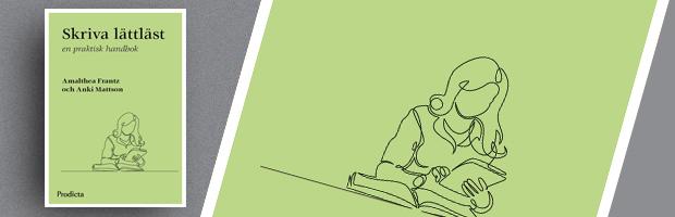 Omslaget till boken Skriva lättläst.